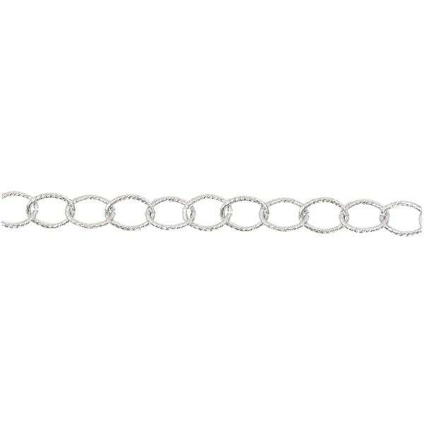 Jewellery Made by Me Gliederkette silber 19mm 1m