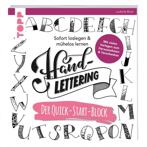 TOPP Handlettering. Der Quick-Start-Block