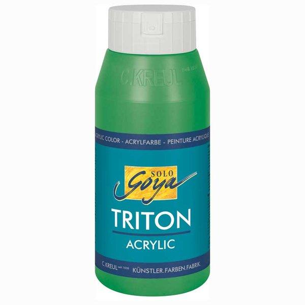 Solo Goya Triton Acrylic Basic permanentgrün 750 ml