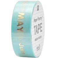 Paper Poetry Tape Monate 1,5cm 10m