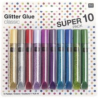 Rico Design Glitter Glue classic 10x10,5ml