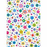 MARPA JANSEN Transparentpapier mehrfarbige Kreise 50x60cm