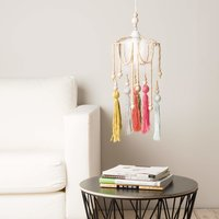 Anleitung Lampenschirm aus Holzkugeln
