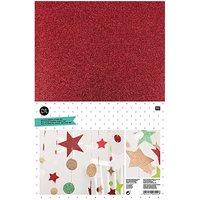 Rico Design Moosgummi Mix Weihnachten 2mm 20x30cm 10 Platten