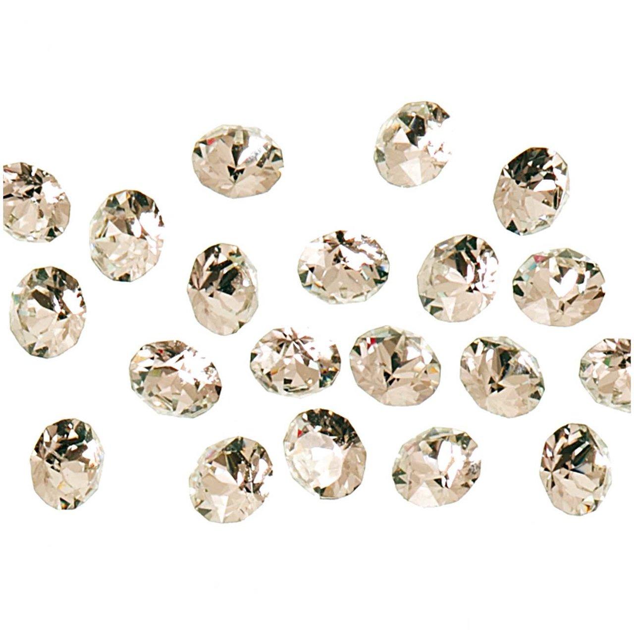 Swarovski® Strass-Steine spitz crystal 2mm 20 S...