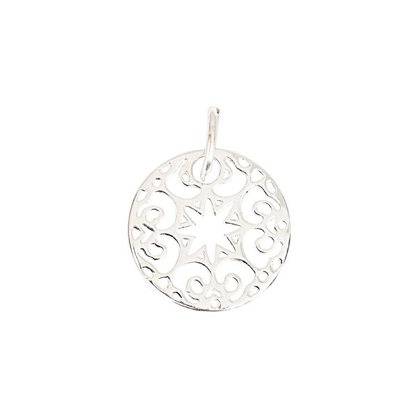Rico Design Scheibe klein Ornament Nr.4 20mm