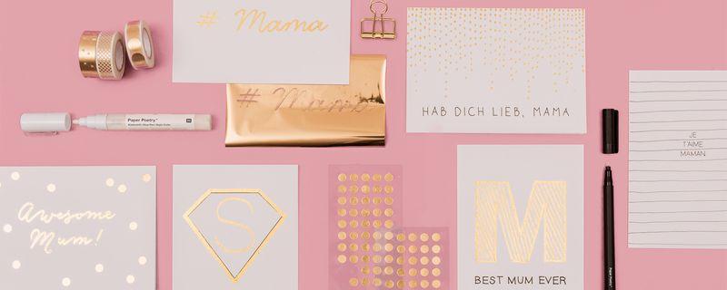 Muttertagskarten Basteln.Muttertagskarten Gestalten Und Basteln Gratis Anleitung Lesen