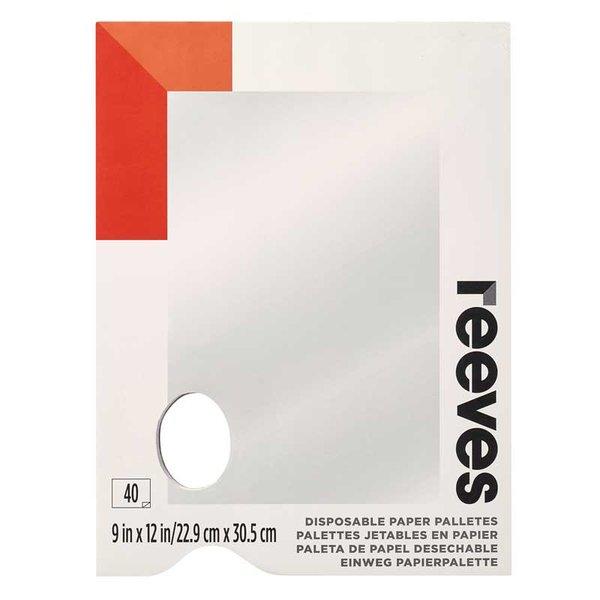 reeves Abreisspalette 22,9x30,5cm 40 Blatt