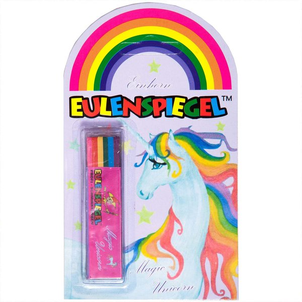 Eulenspiegel Schminkstift Magic Unicorn 6 Farben