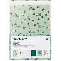 Paper Poetry Kartenset Classical Christmas A6 /C6 12teilig