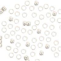 Jewellery Made by Me QuetschPerle silber 2mm 200 Stück