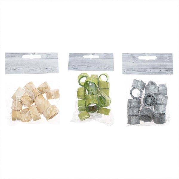 Bamboo-Ringe 2,0-2,5cm 15 Stück