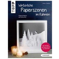 TOPP Winterliche Papierszenen im Rahmen