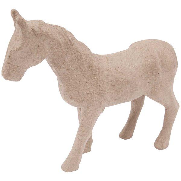 Rico Design Pappmaché Pferd 28,5x24x6cm