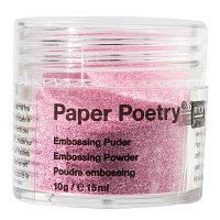 Paper Poetry Embossingpuder pink perlmutt 10g