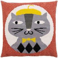 Rico Design Gobelin Kissen Katze 40x40cm
