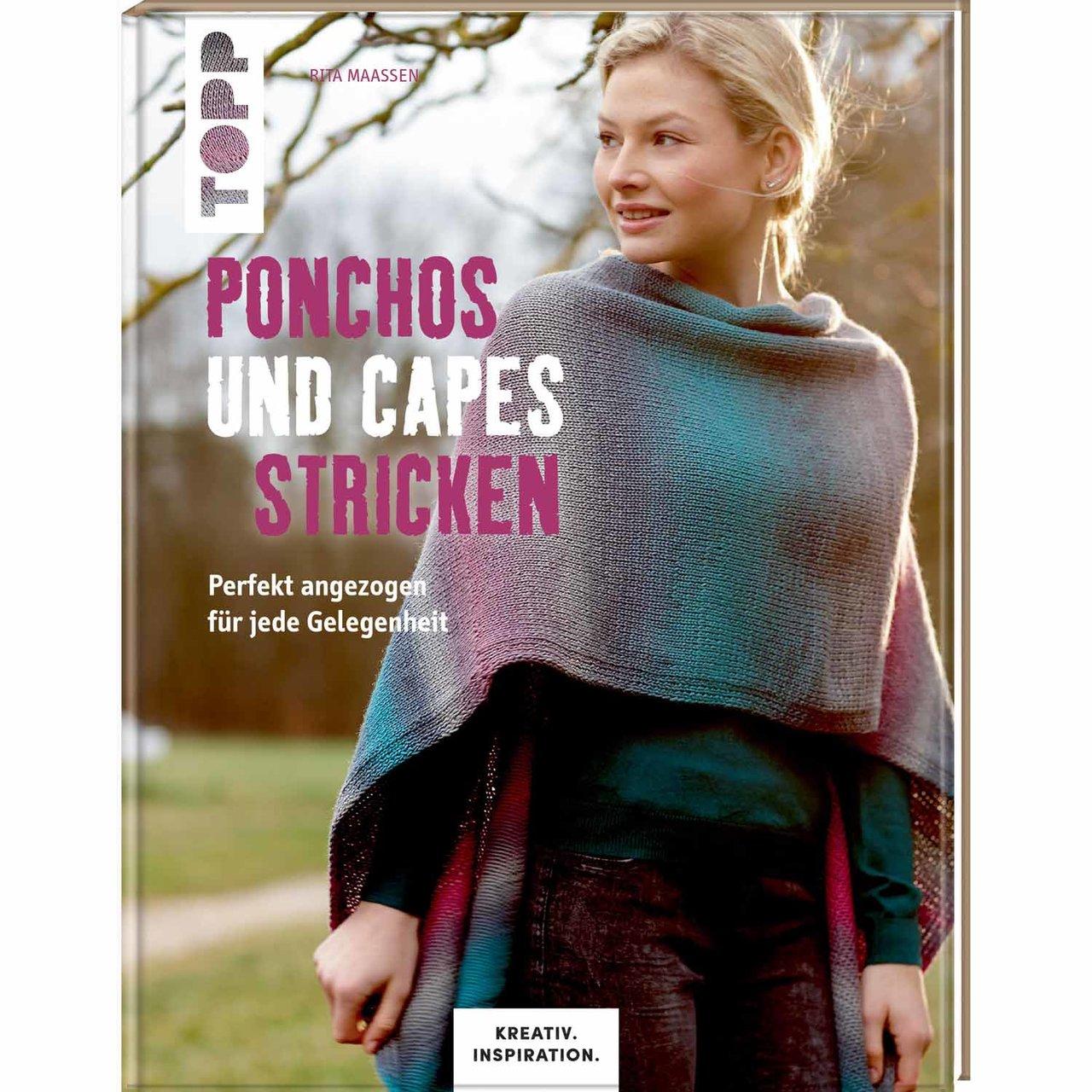 TOPP Ponchos und Capes stricken