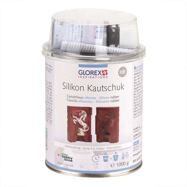 Glorex Silikonkautschuk hitzebeständig 1000g