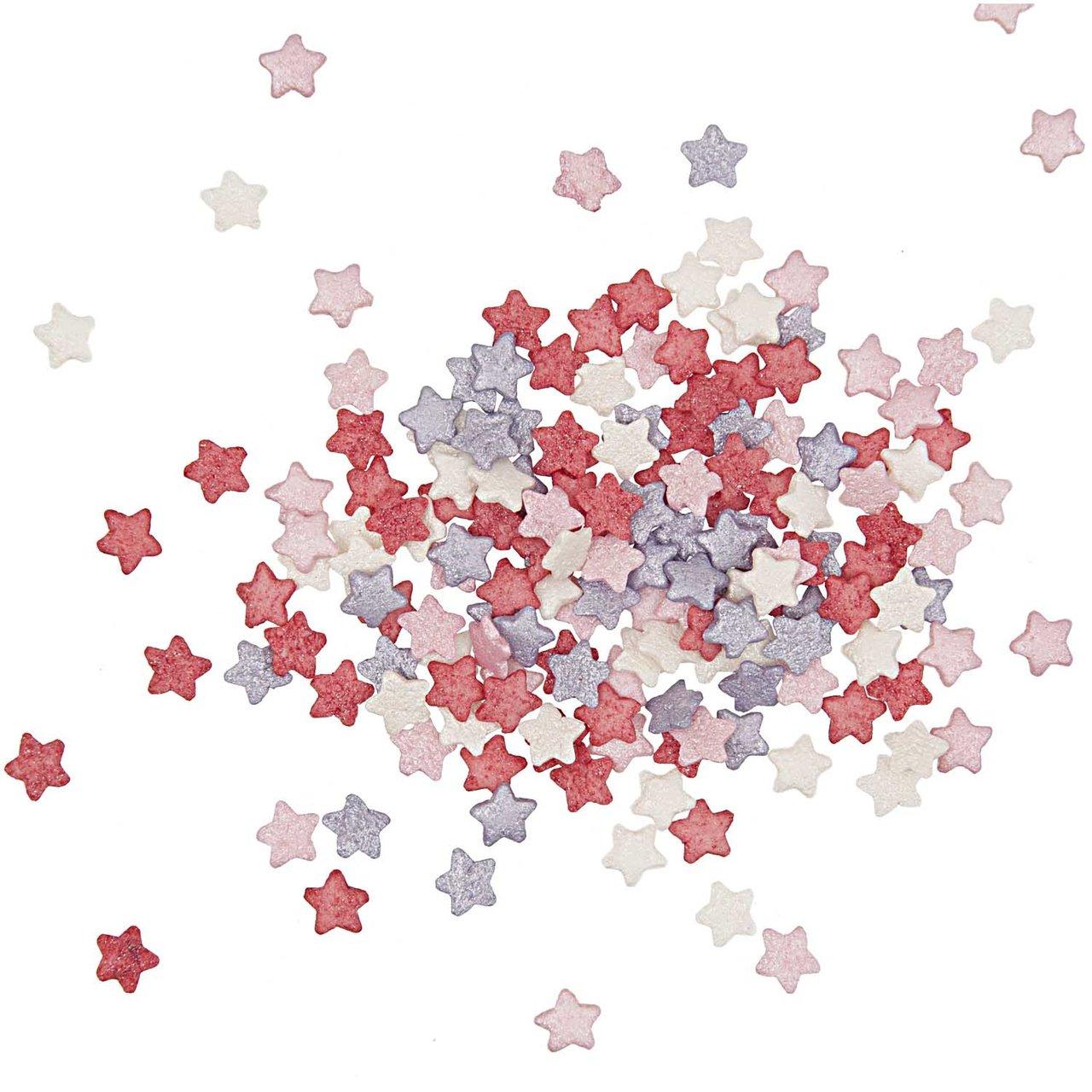 Rico Design Dekor Sterne Valentine´s Mischung 60g