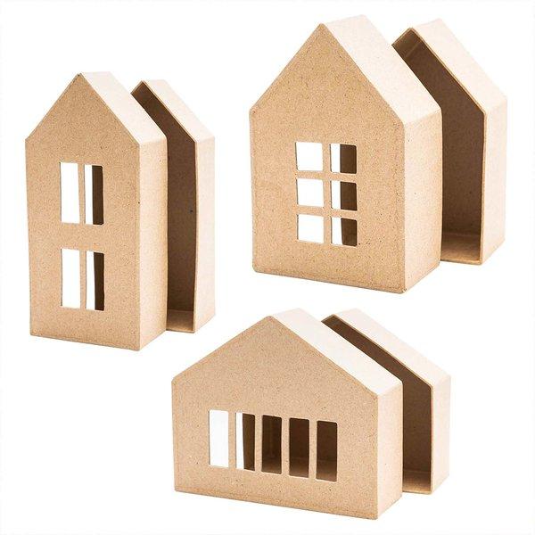 Rico Design Schachtel Pappmaché-Haus