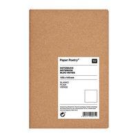 Paper Poetry Notizbuch weiß A6 Kraftpapier blanko