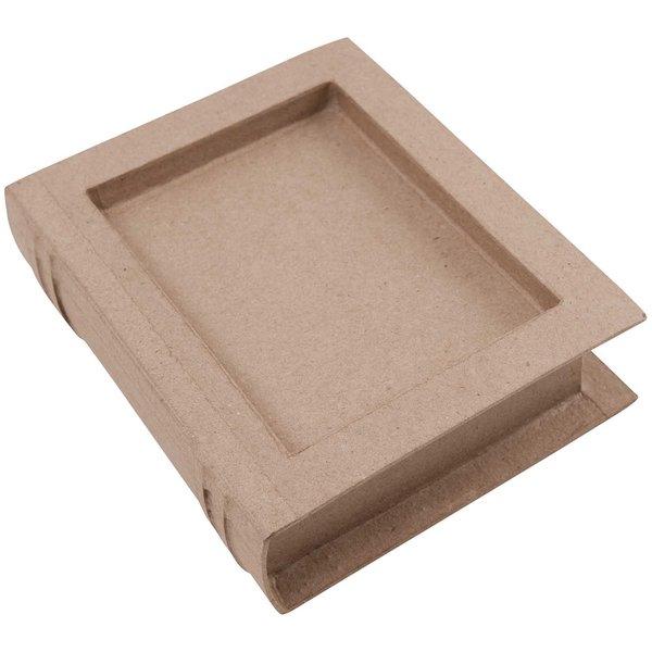 Rico Design Buchbox mit Abteil 18x14,5x4,5cm