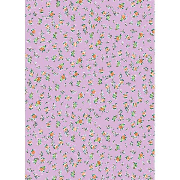 Rico Design Paper Patch Papier Rosen violett 30x42cm