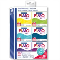 Staedtler FIMO soft Set Cool Colours 6 Blöcke je 57g