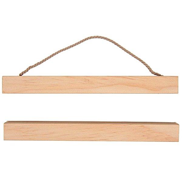 Rico Design Posterhänger Holz 20cm