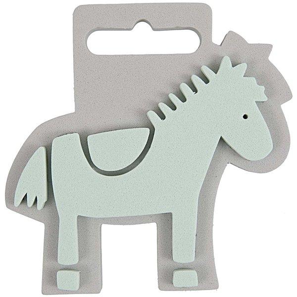 Rico Design Moosgummistempel Pferd 9x9cm