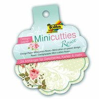 folia Mini Cutties Designpapier Rosen