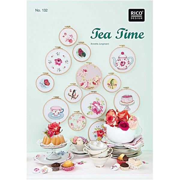 Rico Design Stickbuch Tea Time Nr.132