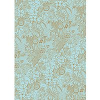Rico Design Paper Patch Papier Spitze türkis 30x42cm