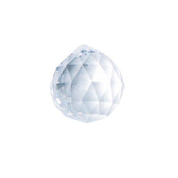 Rico Design Facettenkugel transparent 2 Stück