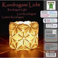Nice Papers Bastel Set Kundragami Licht weiß  20x20cm 13 Blatt