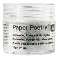 Paper Poetry Embossingpuder klar irisierend 10g