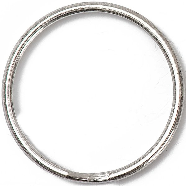 Jewellery Made by Me Schlüsselring silber 30mm 2 Stück