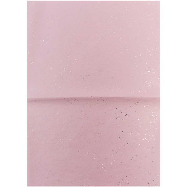 Rico Design Paper Patch Papier Wonderland Punkte rosa 30x42cm