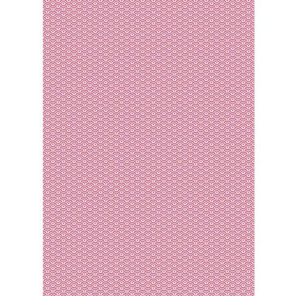 Rico Design Paper Patch Papier Muster rosa 30x42cm