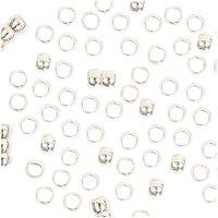 Jewellery Made by Me QuetschPerle silber 2mm 100 Stück
