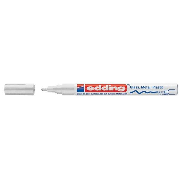 edding 751 Glanzlack-Marker weiß 1-2mm