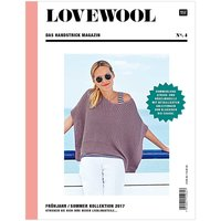 Rico Design Lovewool Nr.4 Handstrickmagazin Frühjahr-Sommer 2017