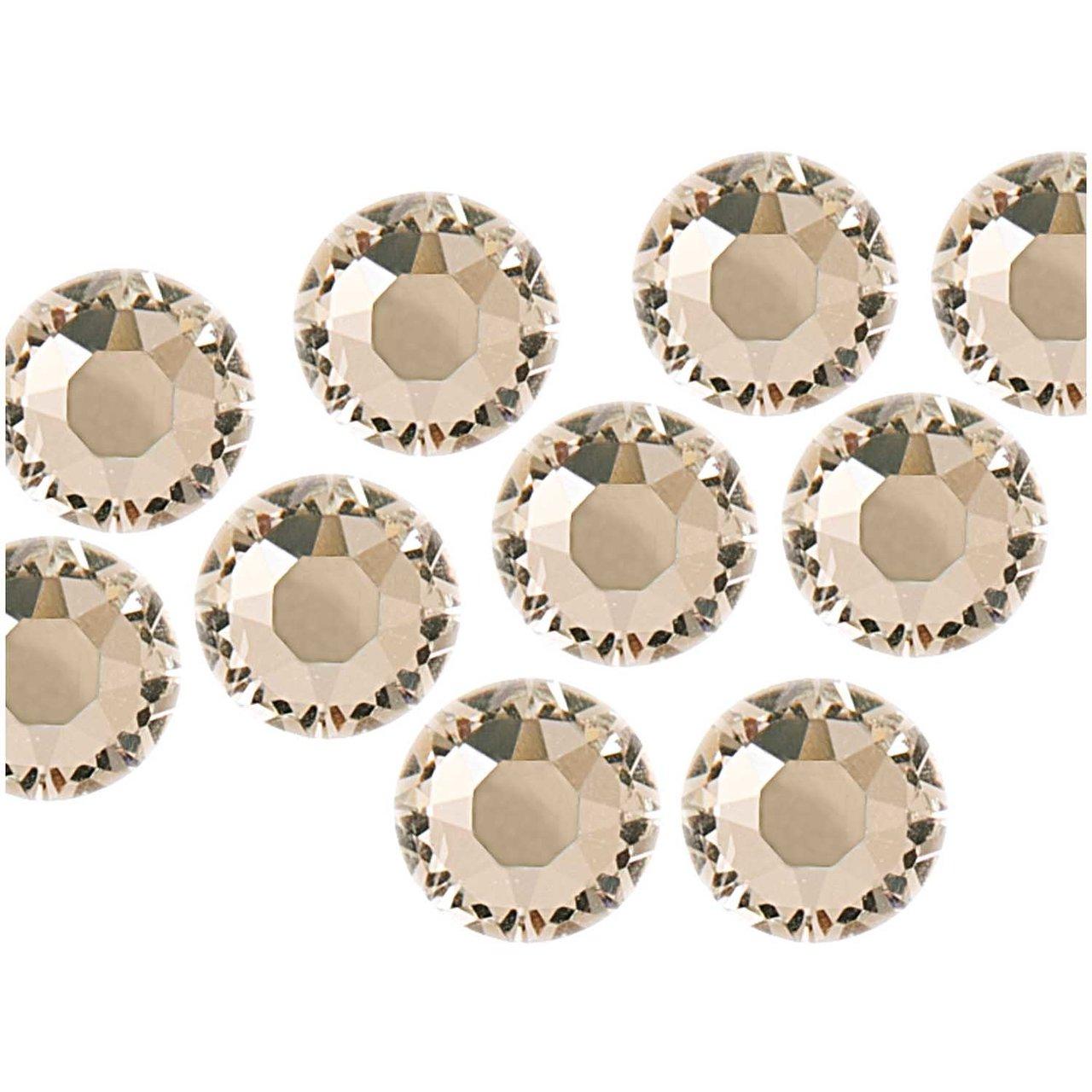 Swarovski® Hot Fix Steine crystal 5mm 10 Stück
