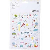 Paper Poetry Sticker Maritim 220 Stück