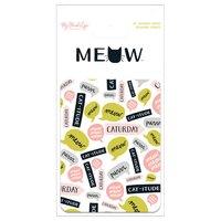 MyMindsEye Scrapbooking Journal Cards Meow 24 Stück