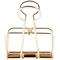 Paper Poetry Wire Clips gold 51mm