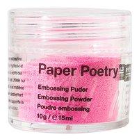 Paper Poetry Embossingpuder neonpink 10g