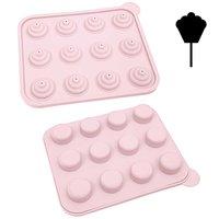 Rico Design Silikonform Cake Pop Minimuffins 22x18,5x4cm