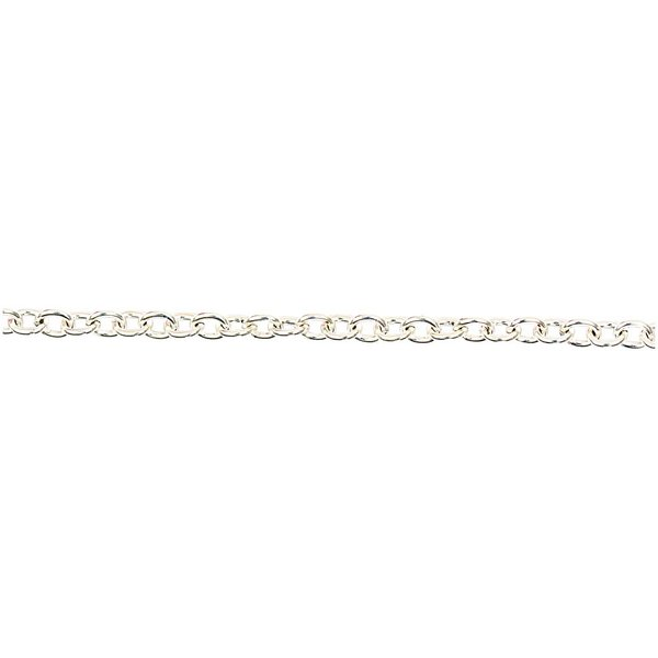 Jewellery Made by Me Gliederkette silber 7-8mm 1m