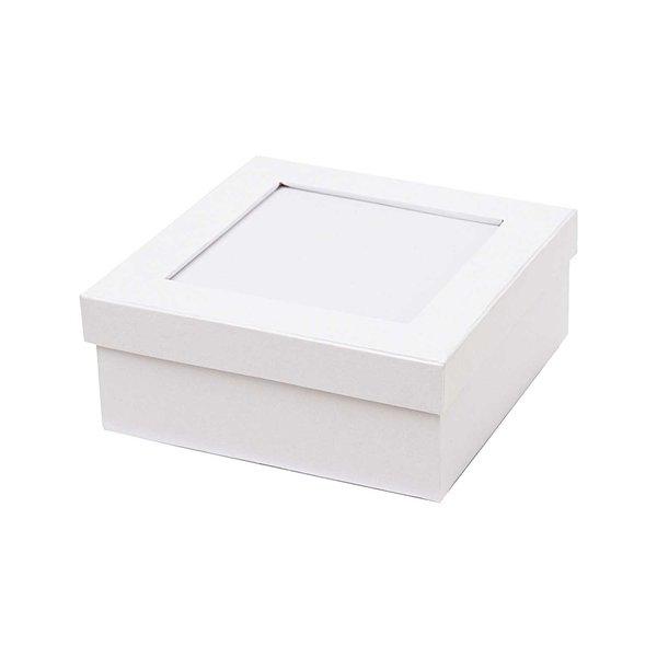 Rico Design Mosaikbox weiß 14x14x5cm